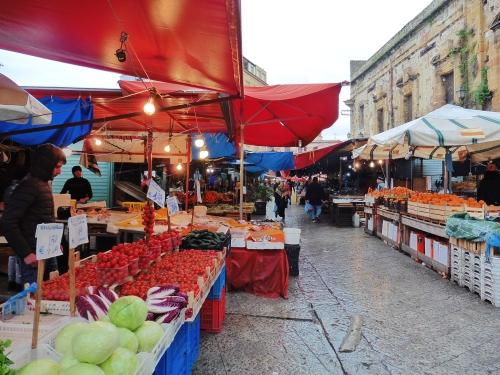 パレルモの市場