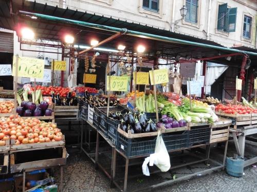 パレルモの市場2