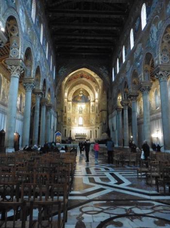 モンレアーレの大聖堂