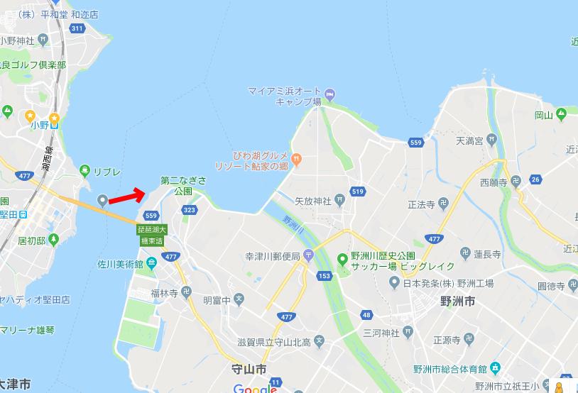 20180313琵琶湖大橋