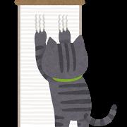 ネコ(爪とぎ
