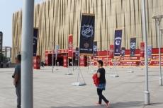 25北京体育館まで
