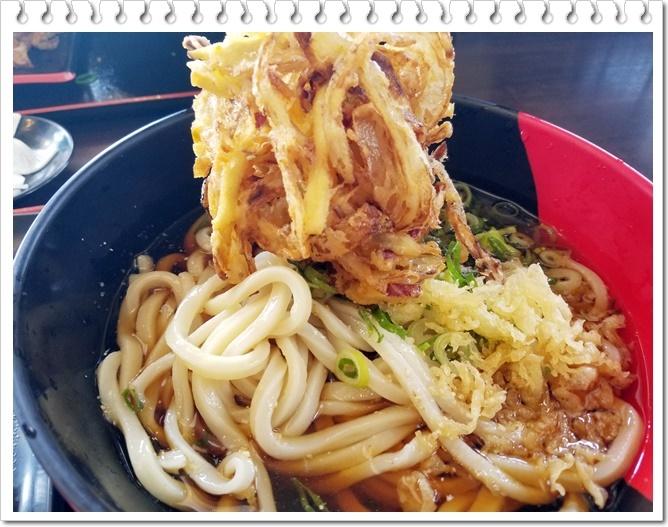 うどん昼ご飯3