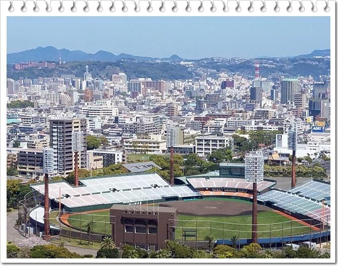 県庁展望台桜島1-3