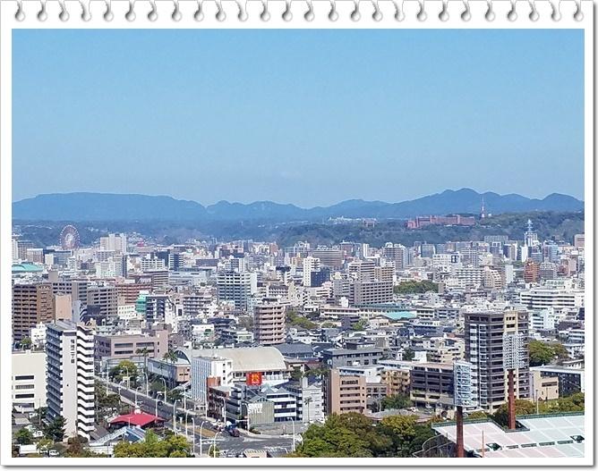 県庁展望台桜島1-4