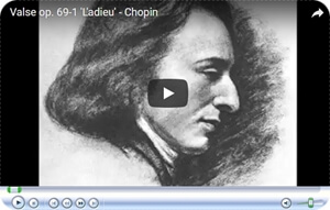 Chopin the Farewell Waltz compressed