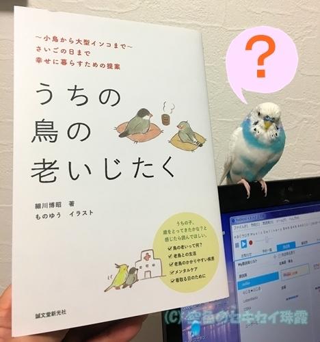 「うちの鳥の老いじたく」を買った。 空色のセキセイ珠霞