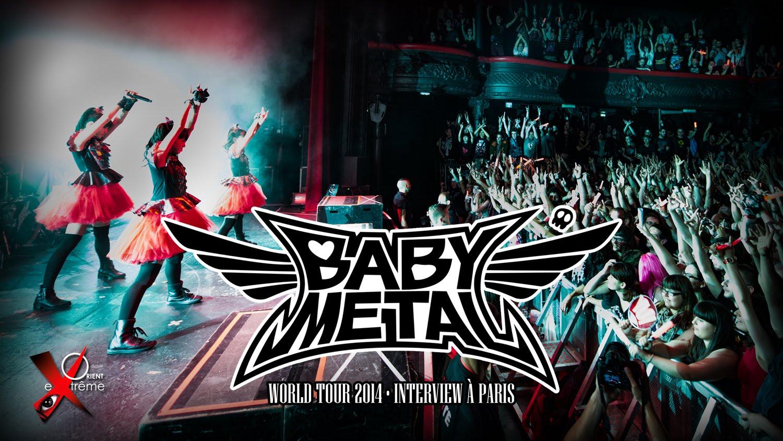 BABYMETALパリ公演前のインタビュー動画を紹介