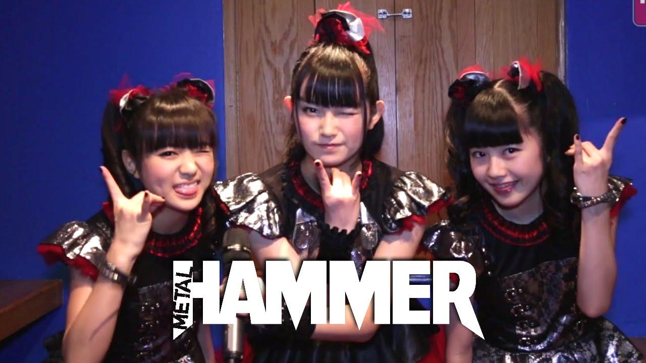 Metal HammerによるBABYMETALへのインタビュー動画を紹介