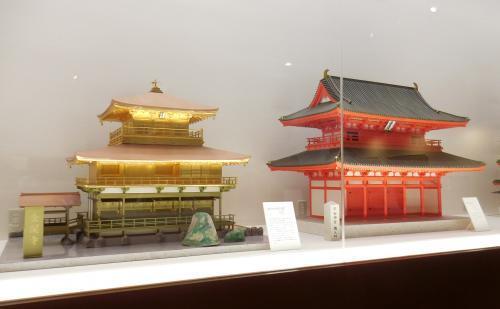 金閣寺と平安神宮