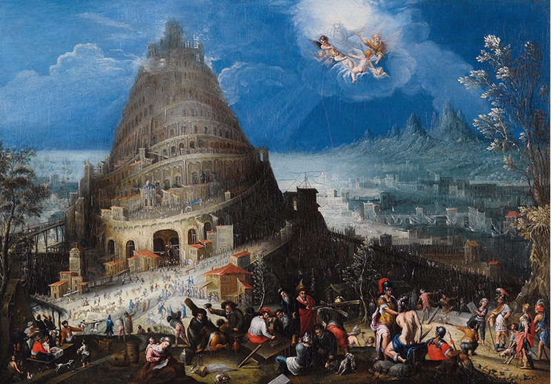 Brughel tower babel