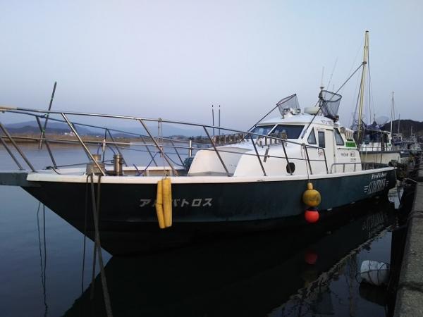 2018初アルバ1号艇