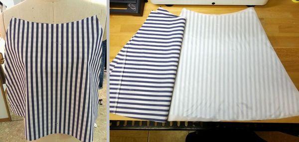 ブルーシャツ胸当て9
