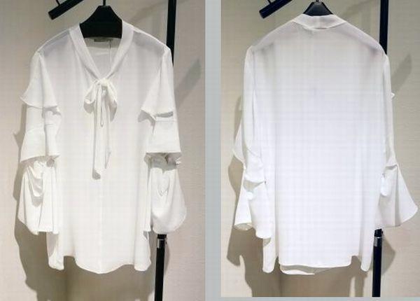 biancoブラウス&スカート4