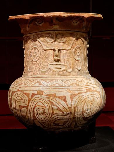 原住民の土器お棺