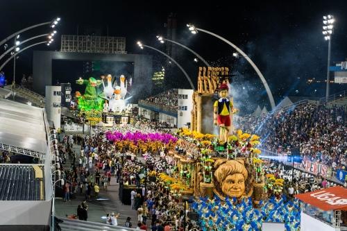 カーニバル2018サンパウロのパレード