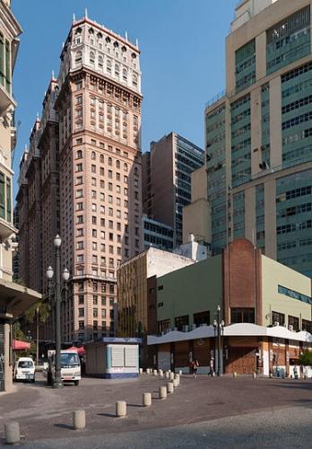 サンパウロ市建築マリチネリビル1