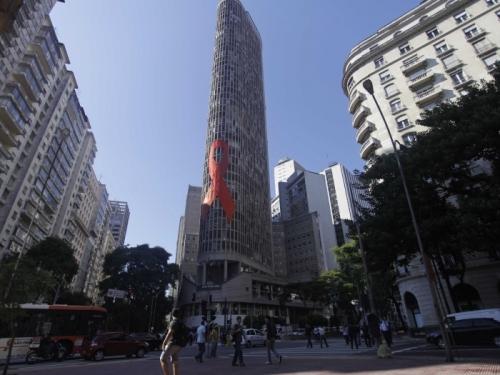 サンパウロ市建築イタリアビル