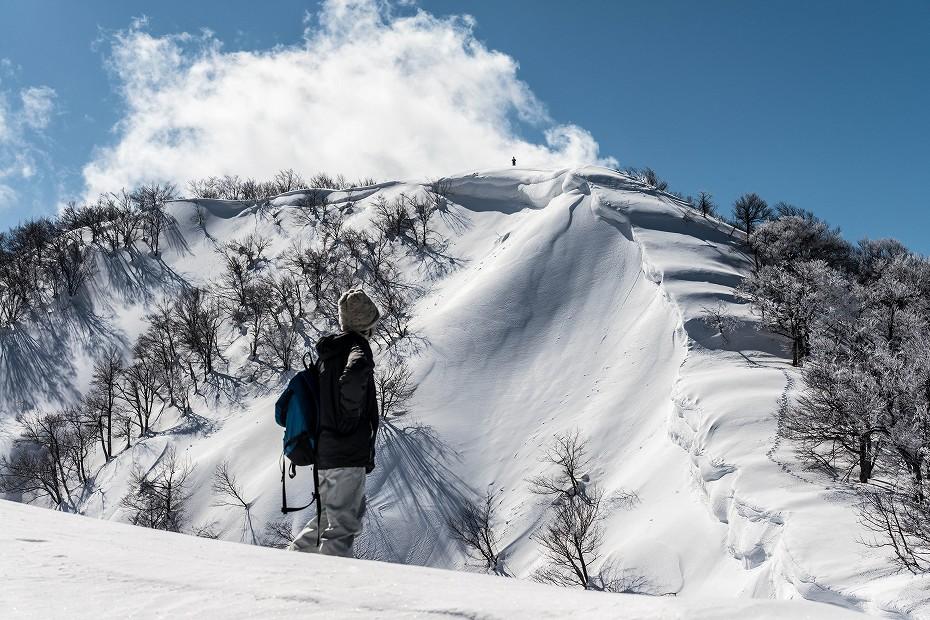2018.02.22 医王山 夕霧峠 16