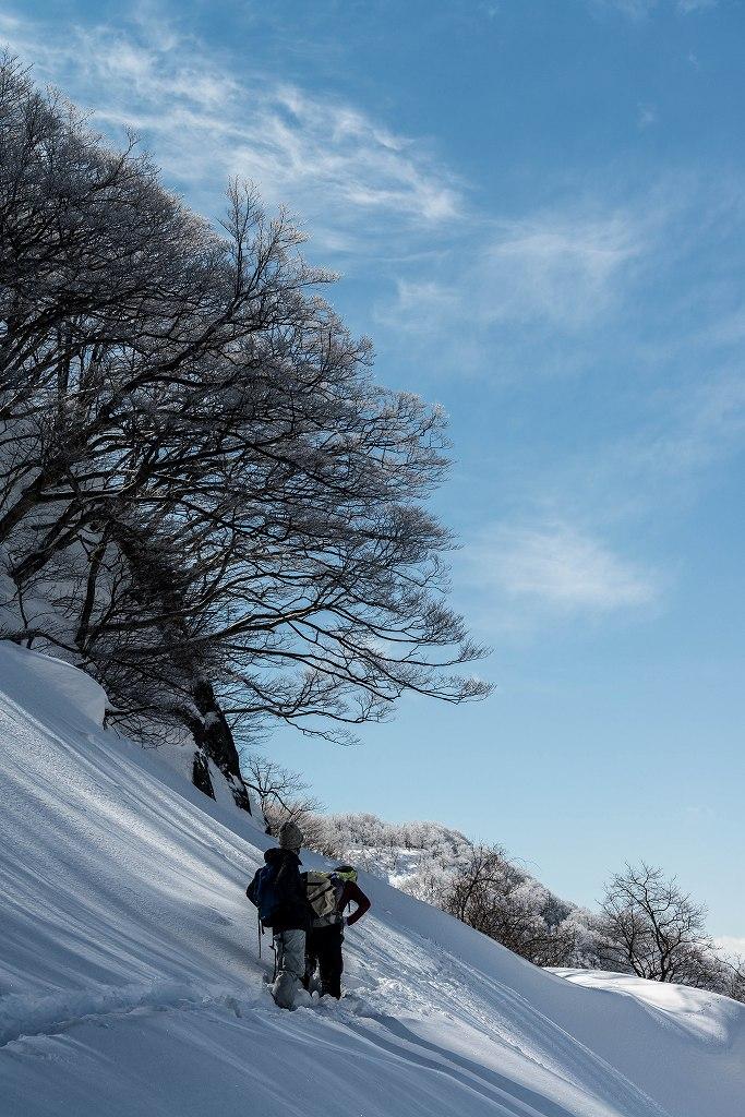 2018.02.22 医王山 夕霧峠 9