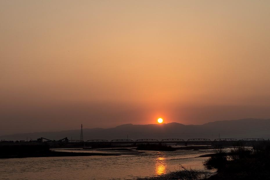 2018.03.25 手取川の朝景 2