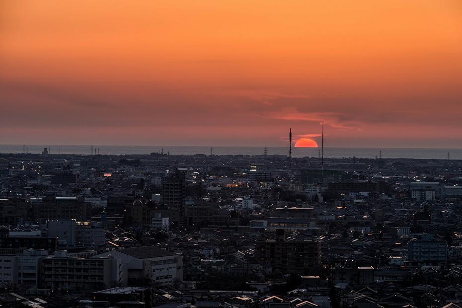 2018.03.30 大乗寺丘陵公園 夕景 6