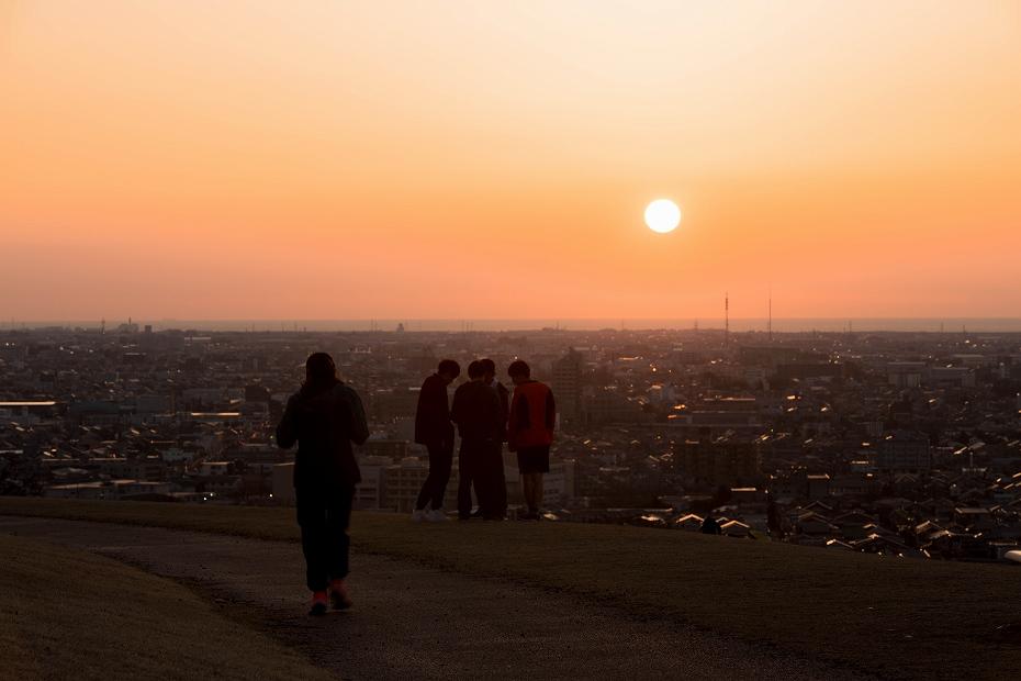 2018.03.30 大乗寺丘陵公園 夕景 3