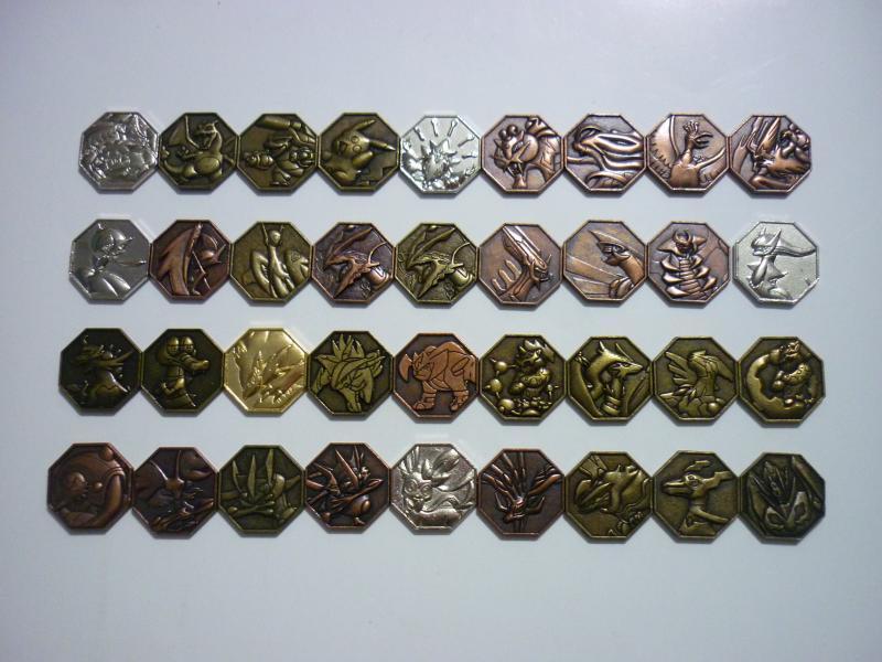 メタルコレクション メダルタイプ