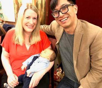 Ryan Fiona and Baby Elliot