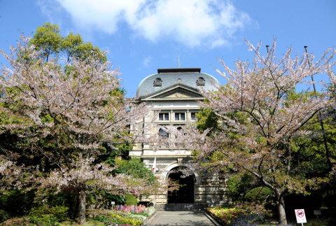 春の兵庫県公館