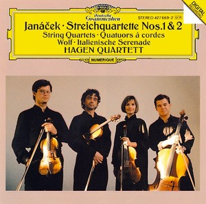 JANACEK String Quartet HagenQuartet