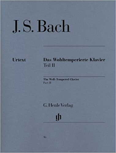 Bach_WellTempered score