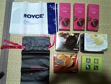 ロイズチョコレート購入品