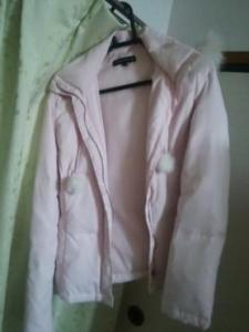 ジャイロホワイト ピンクのダウン1