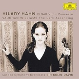 Vaughan Williams The Lark Ascending - Hilary Hahn, London Symphony Orchestra Sir Colin Davis