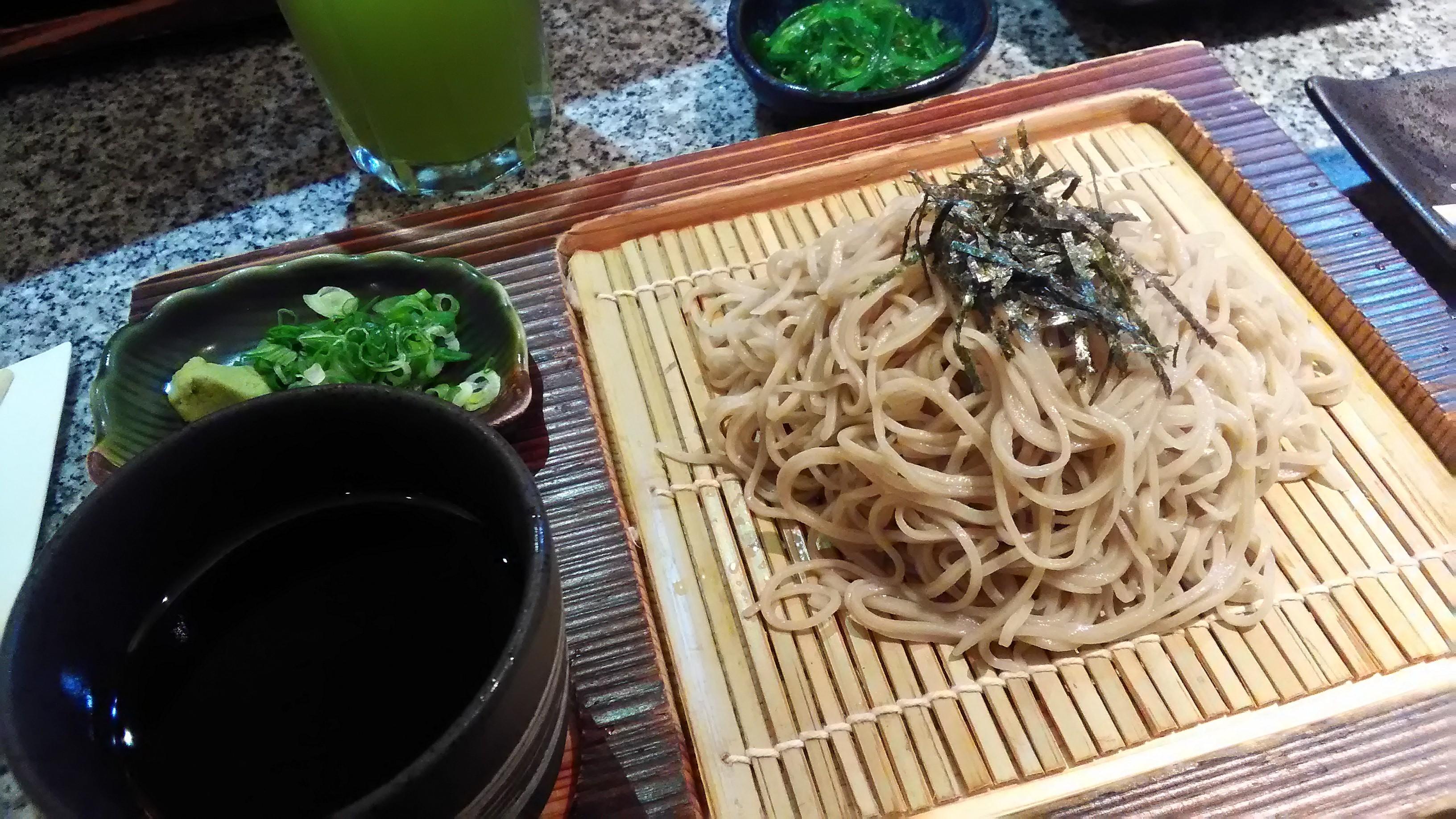 蕎麦屋 しげ ISETAN Japan