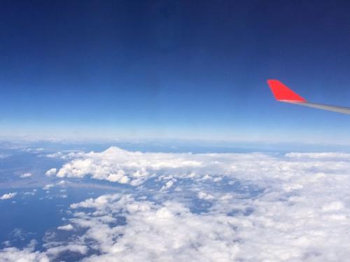 富士山を見るとホッとする