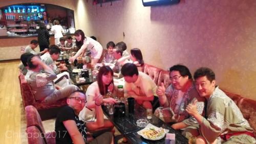 大学のクラブOB会 伊香保温泉