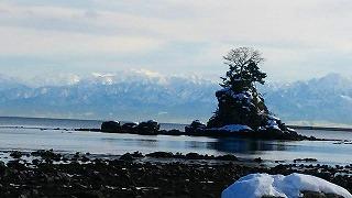 s-氷見・雨晴海岸の冬