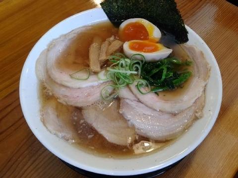 中村屋・H29・5 中華そば ちゃーしゅー煮玉子
