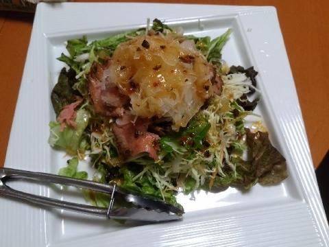 ブタレス・H29・5 料理1