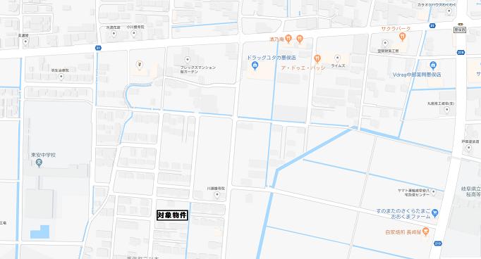 二ツ木・地図1
