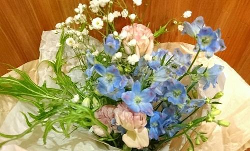 ダマちゃんにお花2018