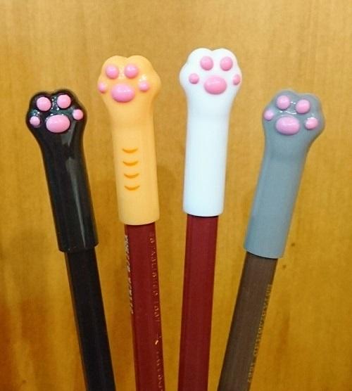 猫の鉛筆キャップ