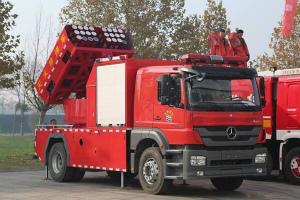 DTbe7KiUQAc9c4P中国では多連装ロケット式消防車が