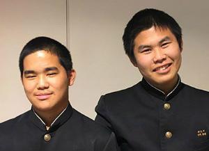 2c6fbfe8ed8e818fa25cb619b0947c10全国大会で準優勝した下門悠理さん(右)と比嘉翔太さん