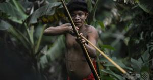 zIsiYlcxアマゾン孤立先住民