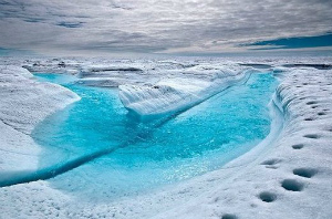 Capture地球温暖化ではないグリーンランドの氷床融解