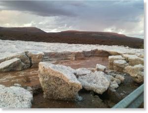 rain_hail_water_sutherland_dro南アフリカのサザーランド