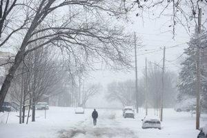 Iowa_snow_stormアイオワ州北東部